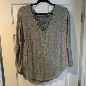Soft and Sexy Plush low cut long sleeve
